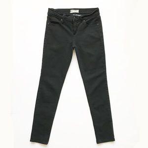 FREE PEOPLE Black Mid Rise Skinny Jean 25
